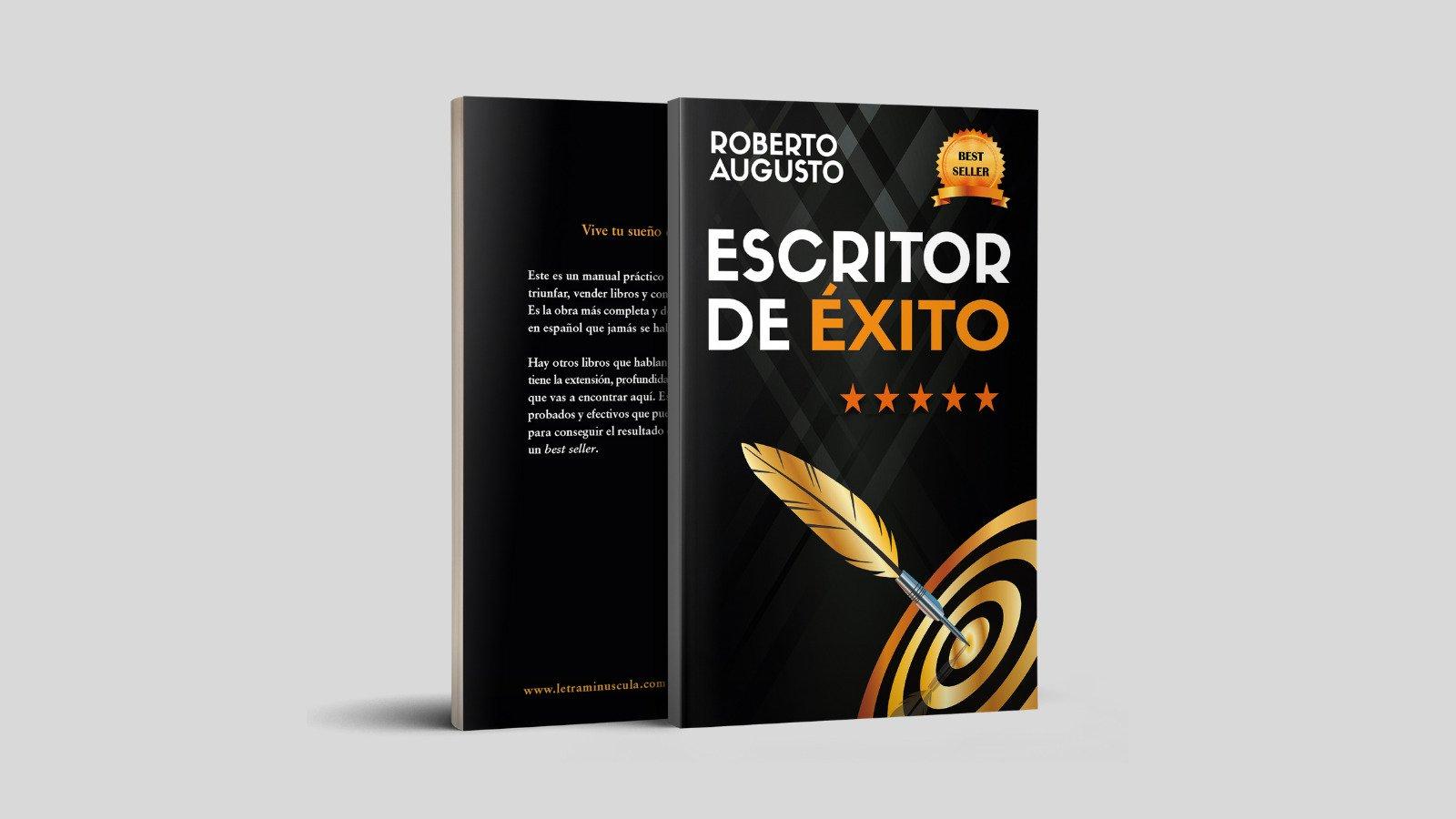 Escritor de éxito de Roberto Augusto