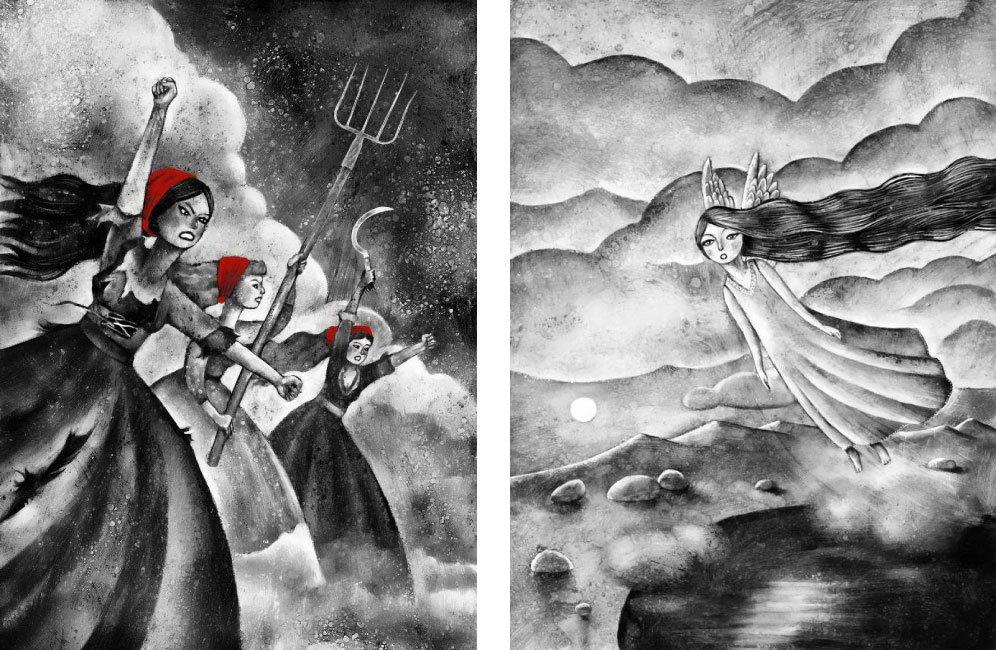 ilustraciones para escritores