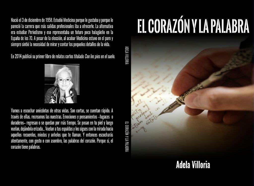 El corazón y la palabra libro de Adela Villoria